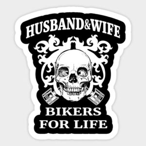 husband & wife bikers for life