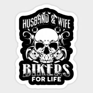 husband & wife bikers for live no 2.