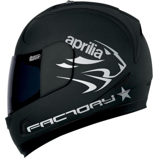 aprilia factory helmsticker