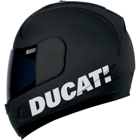 ducati helmsticker