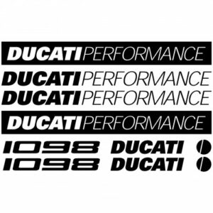 Ducati 1098 stickerset
