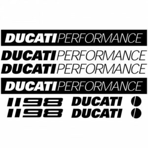 Ducati 1198 stickerset