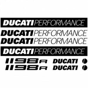 ducati 1198R stickerset
