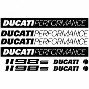 Ducati 1198S stickerset