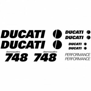 Ducati 748 stickerset