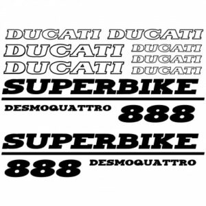 Ducati 888 superbike stickerset