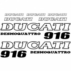 Ducati 916 stickerset