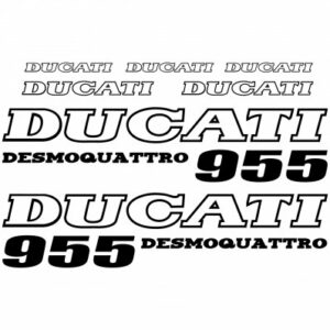 Ducati 955 stickerset