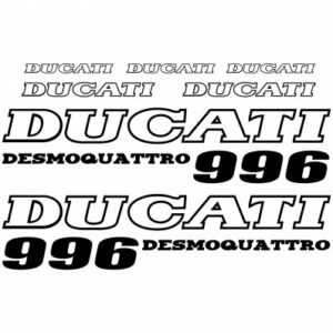 Ducati 996 stickerset