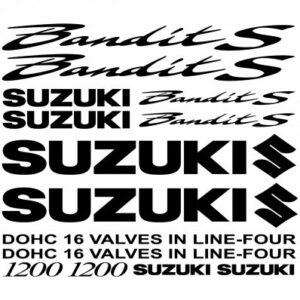 Suzuki Bandit 1200s stickerset