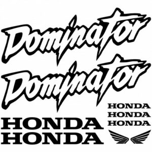 Honda Dominator stickerset
