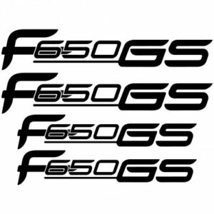 BMW F650 GS stickerset