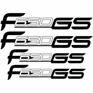 BMW f650 GS outline stickerset