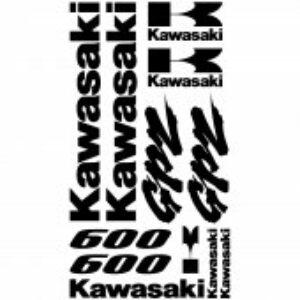 Kawasaki GPZ600 stickerset