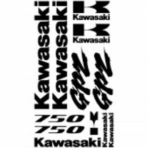 Kawasaki GPZ 750 stickerset