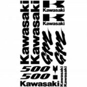 Kawasaki GPZ 500 stickerset