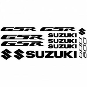 Suzuki GSR 600 stickerset