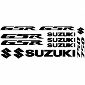 Suzuki GSR 750 stickerset