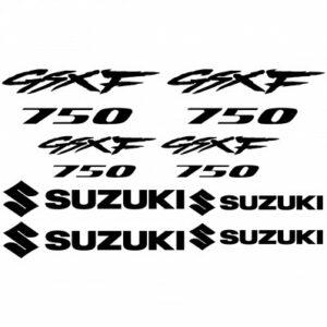Suzuki GSXF 750 stickerset