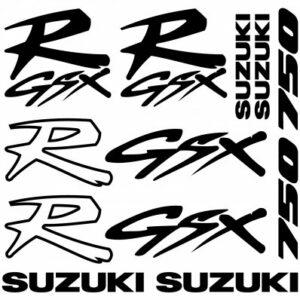 Suzuki GSXR 750 stickerset