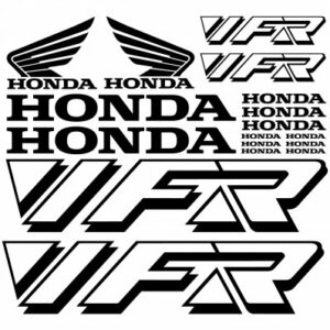 Honda VFR stickerset (oud model)
