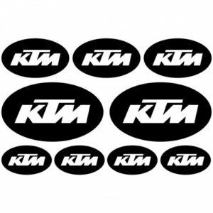 KTM stickerset