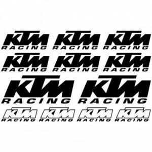 KTM racing stickerset