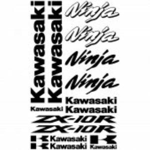 Kawasaki ZX10R stickerset
