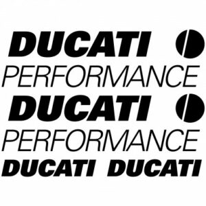 Ducati performance one stickerset