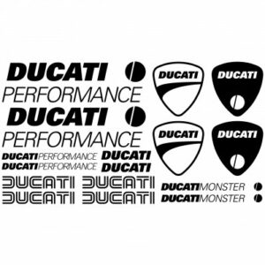 Ducati performance two stickerset