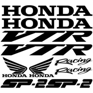 Honda VTR SP-2 stickerset