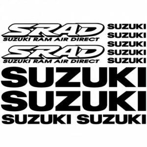Suzuki SRAD stickerset