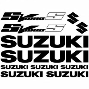 Suzuki SV1000s stickerset
