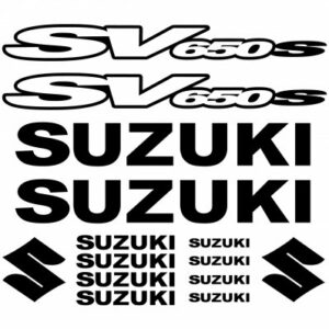 Suzuki SV650S stickerset