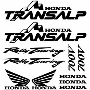Honda transalp 700v stickerset