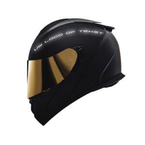 Helm striping reflectief.