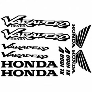 Honda Varadero XL1000V stickerset