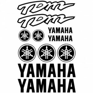Yamaha TDM stickerset