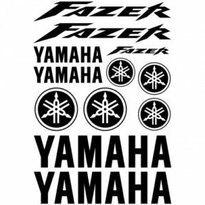 Yamaha Fazer stickerset