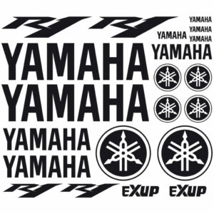 Yamaha r1 stickerset 2004+