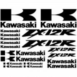 Kaswasaki ZX12R stickerset