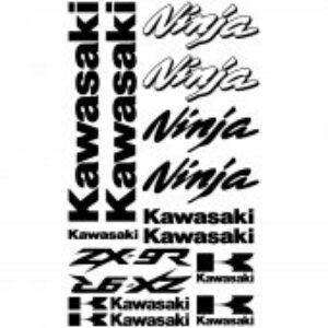 Kawasaki ZX9R stickerset
