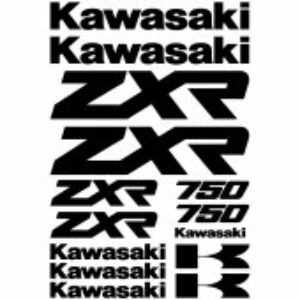 Kawasaki ZXR750 stickerset