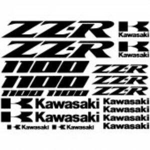 Kawasaki ZZR1100 stickerset
