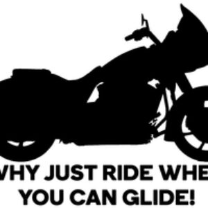 Why just ride when you can glide