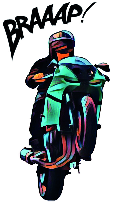 Cartoon sticker