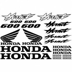 Honda Hornet 600 stickerset