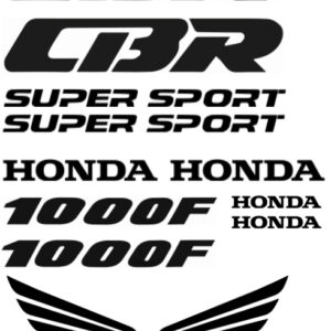 Honda CBR1000F stickerset