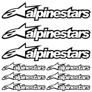 alpinestars stickerset 2.