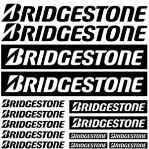 bridgestone stickerset
